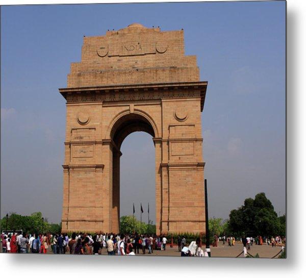 India Gate - New Delhi - India Metal Print