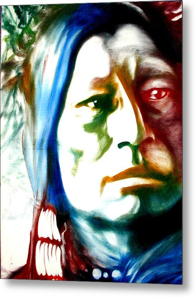 Indian 1 Metal Print by Scott Robinson