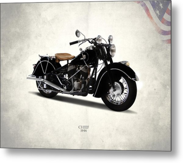 Indian Chief 1946 Metal Print