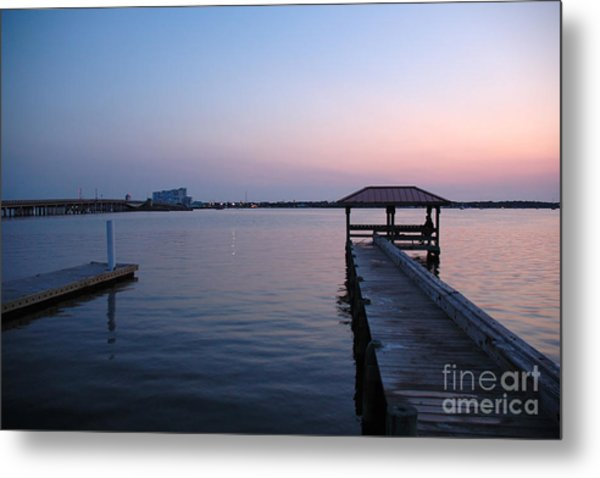 Indian River Sunset Metal Print