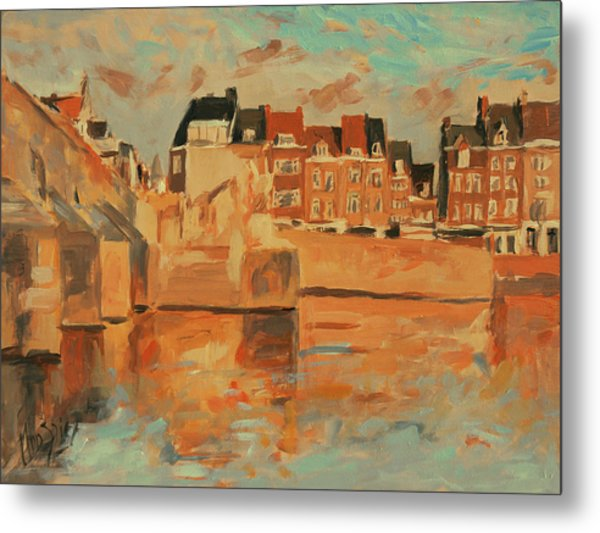 Indian Summer Light Maastricht Metal Print