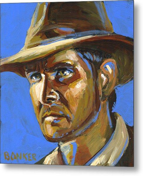 Indiana Jones Metal Print by Buffalo Bonker
