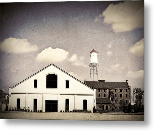 Indiana Warehouse Metal Print