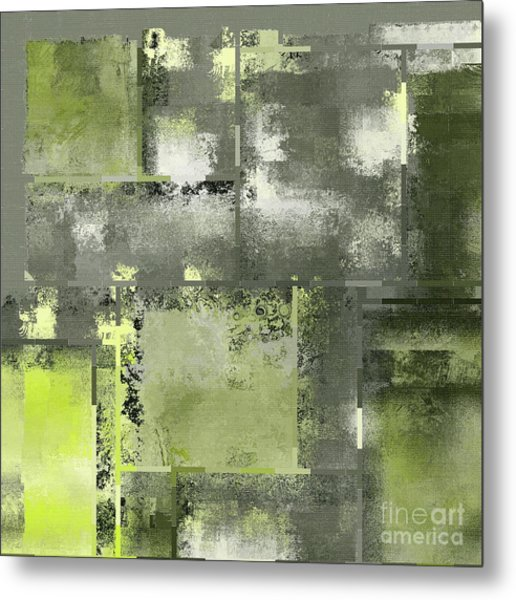 Industrial Abstract - 11t Metal Print