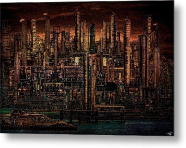 Industrial Psychosis Metal Print