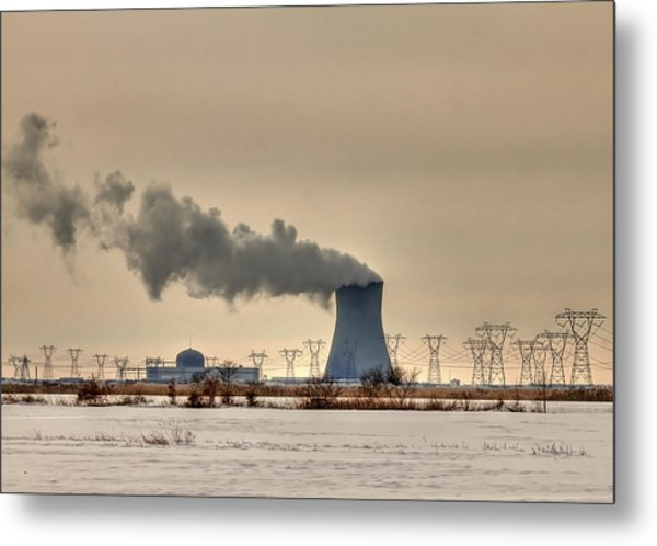 Industrialscape Metal Print