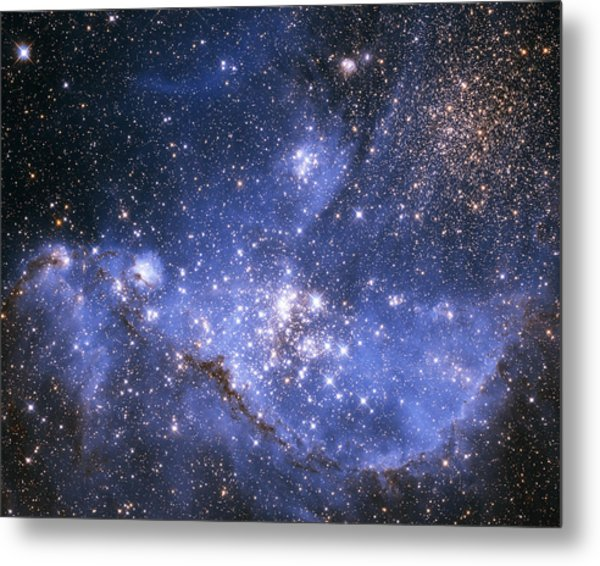 Infant Stars In The Small Magellanic Cloud  Metal Print