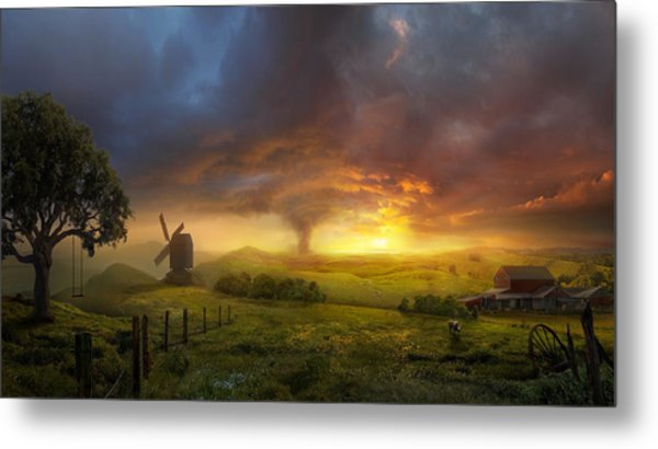 Infinite Oz Metal Print