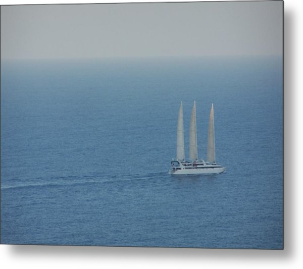 Infinite Sea Metal Print by Adam Schwartz