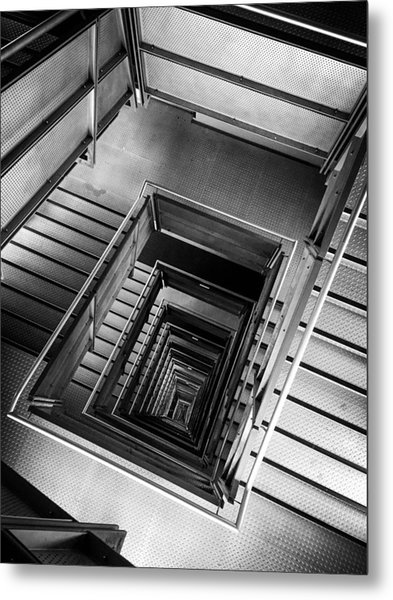 Infinite Well Metal Print