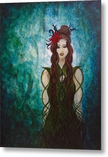 Infinity Goddess Metal Print