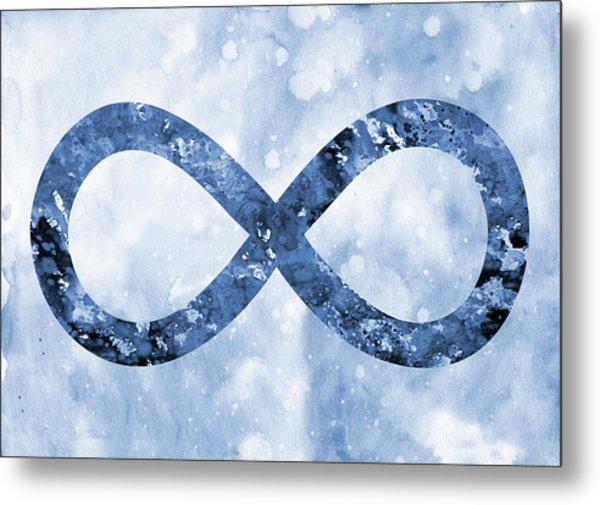 Infinity Symbol Art Pixels