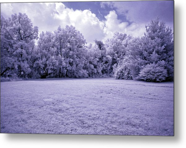 Infrared In Glasgow Ky Metal Print