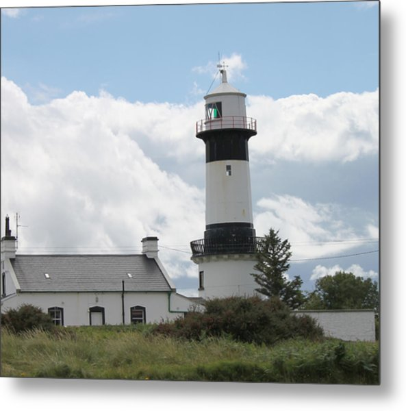 Inishowen Lighthouse Metal Print