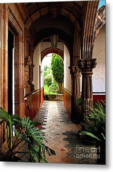 Inner Garden Metal Print by Mexicolors Art Photography