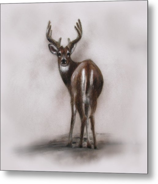 Innocent Beauty Metal Print