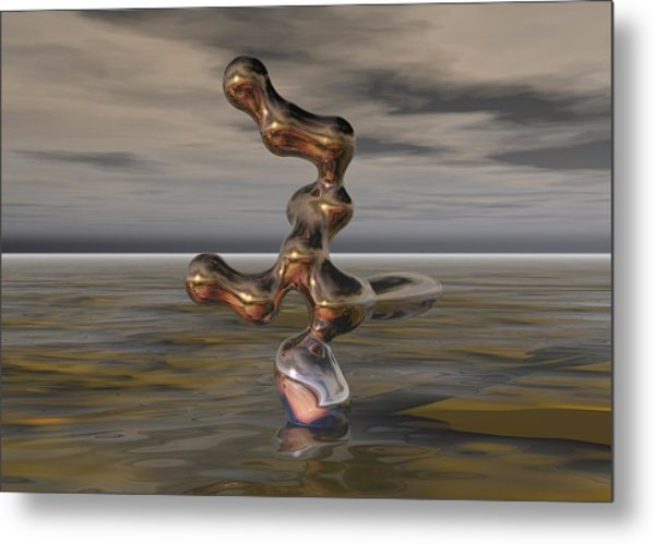 Innovation The Leap Of Imagination  Metal Print