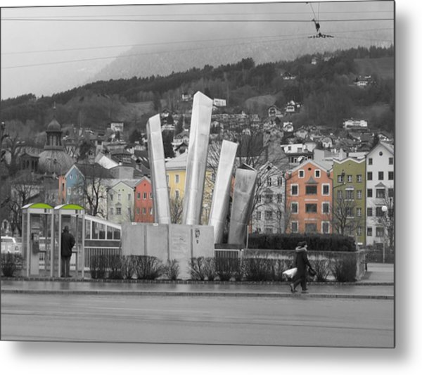Metal Print featuring the photograph Innsbruck Art by Dylan Punke