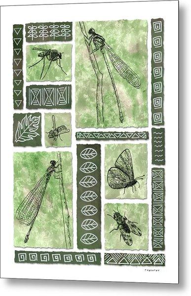Insects Of Hawaii II Metal Print