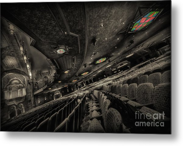 Inside Fox Theater Metal Print