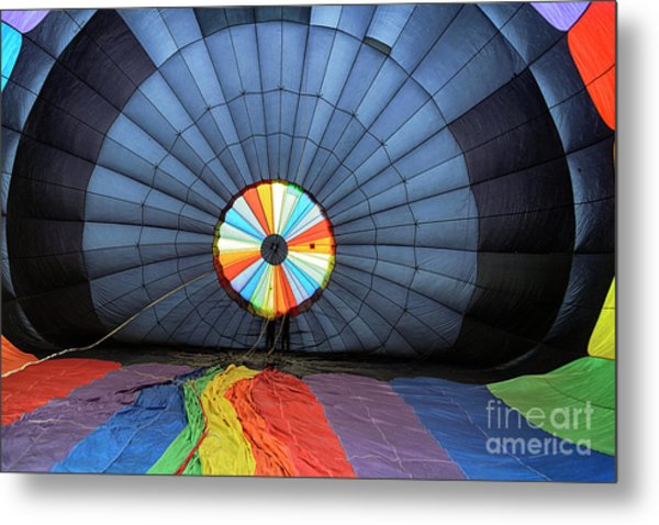 Inside The Balloon Metal Print