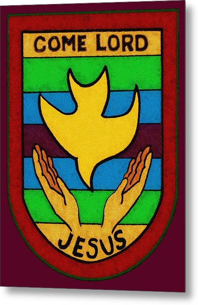 Inspirational - Come Lord Jesus Metal Print