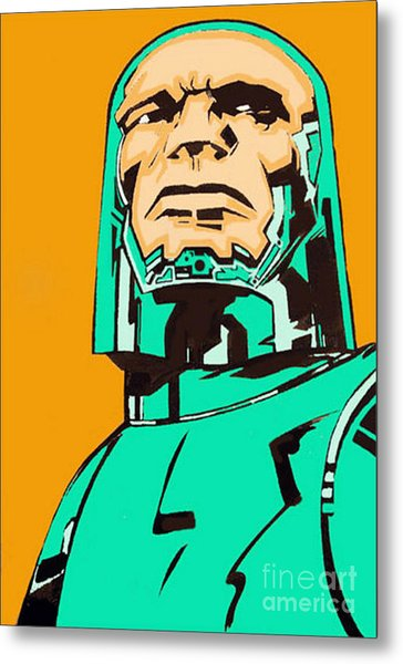 Inspired By Kirby Metal Print by George Penon Cassallo