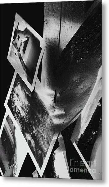Intellect Disconnect Metal Print