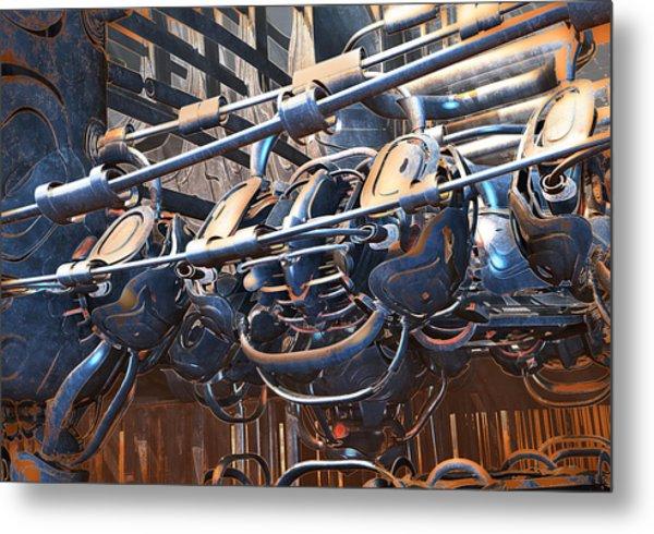 Interdimensional Engine Metal Print