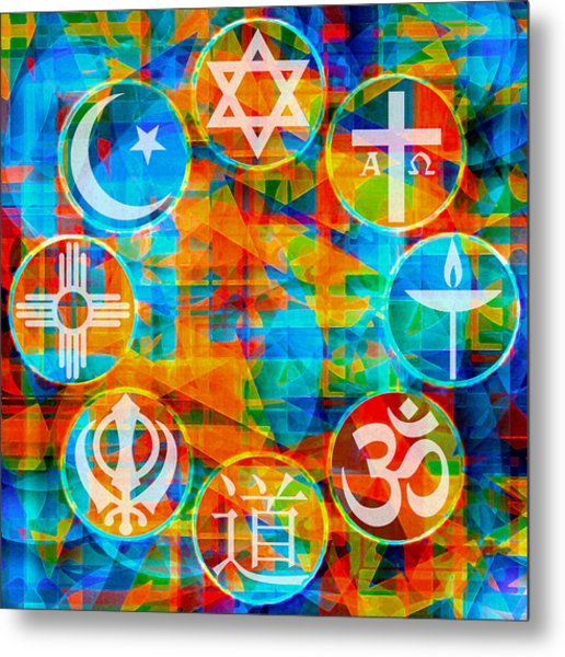 Interfaith 1 Metal Print