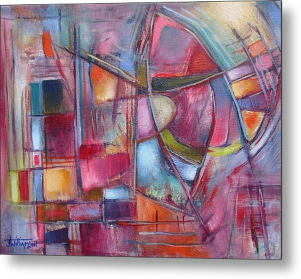 Internal Dynamics # 8 Metal Print