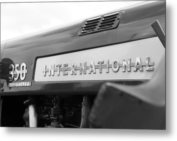 International 350 Metal Print