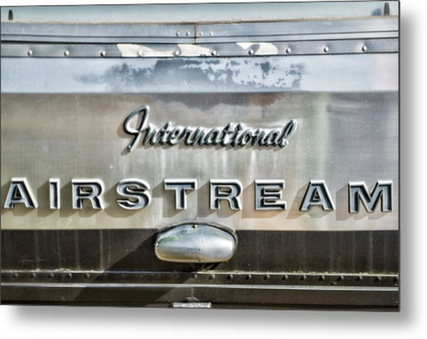 International Airstream Metal Print