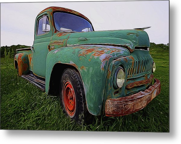 International Hauler Metal Print