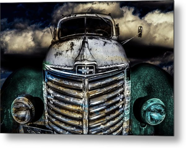 Metal Print featuring the photograph International Truck 6 by Michael Arend