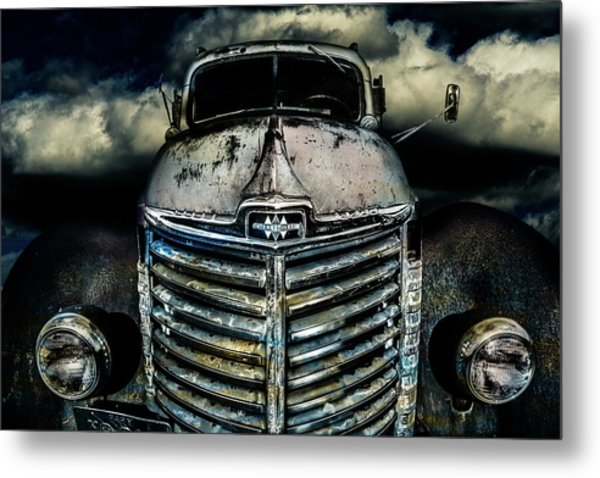 International Truck 7 Metal Print