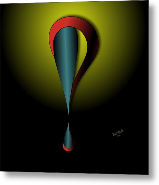 Interrofang Bang Metal Print