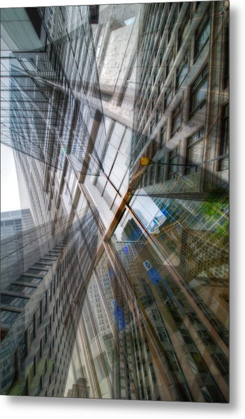 Intersection 10 Metal Print by Kevin Eatinger