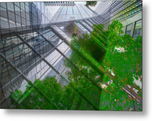 Intersection 9 Metal Print by Kevin Eatinger