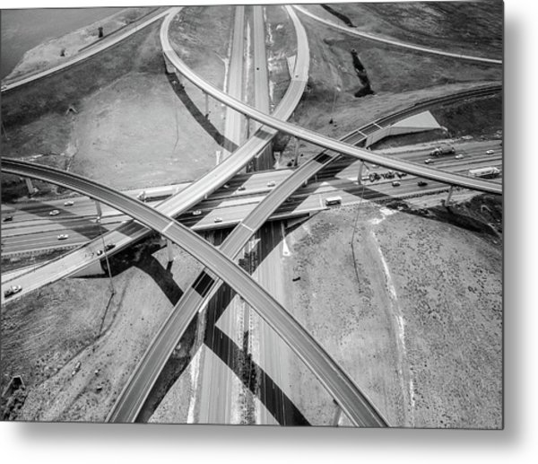 Intersections 2 Metal Print