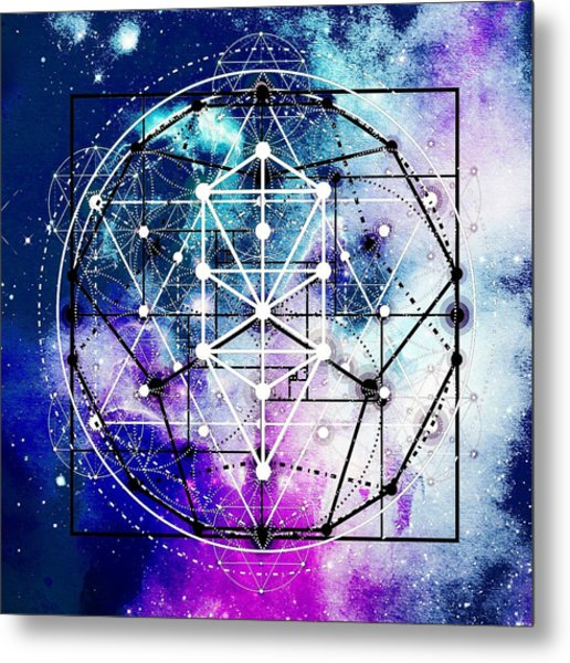 Metal Print featuring the digital art Intertwined  by Bee-Bee Deigner