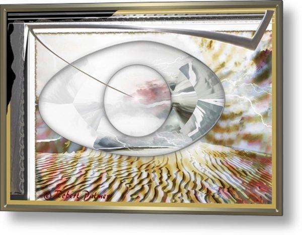 ' In The Blink Of A Eye ' Metal Print