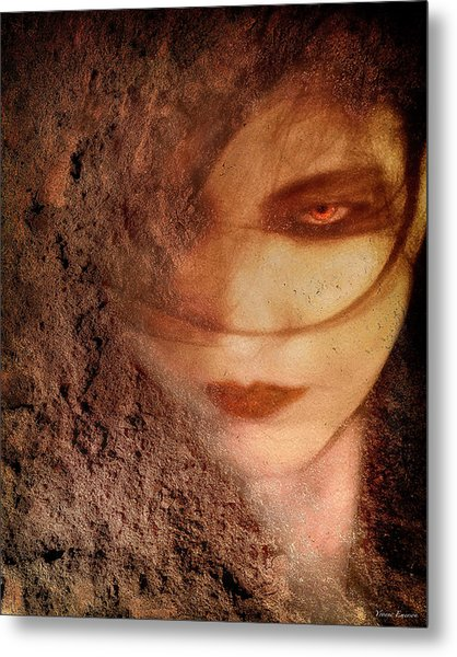Into Dust Metal Print