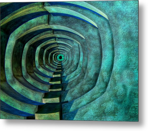 Metal Print featuring the photograph Into The Dark by Paul Wear