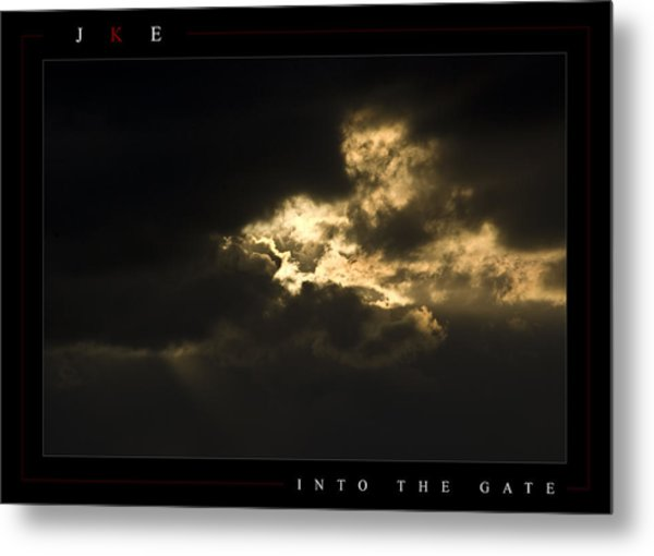 Into The Gate Metal Print by Jonathan Ellis Keys