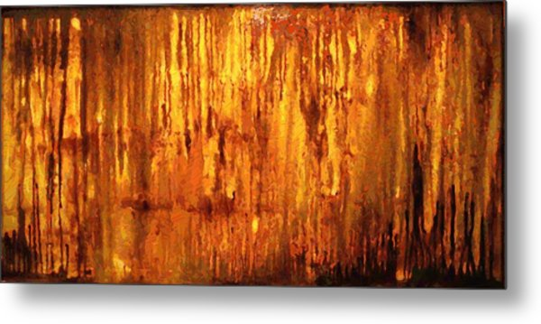Into The Light Metal Print by Hengameh Kaghazchi