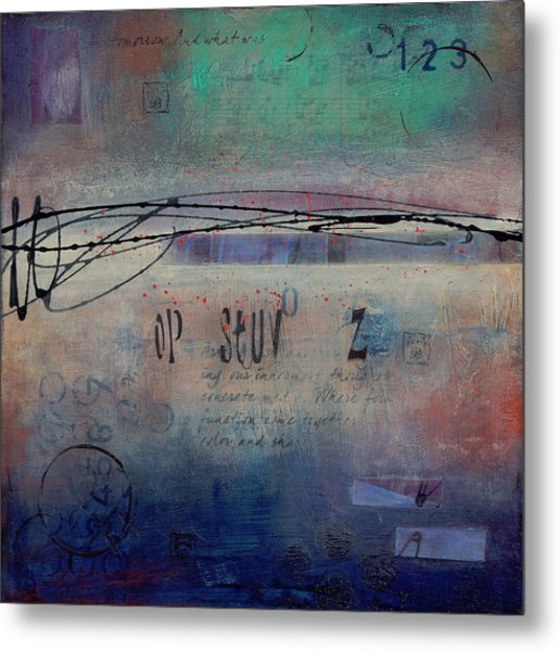 Into The Mystery Metal Print