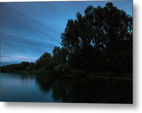 Into The Night Metal Print