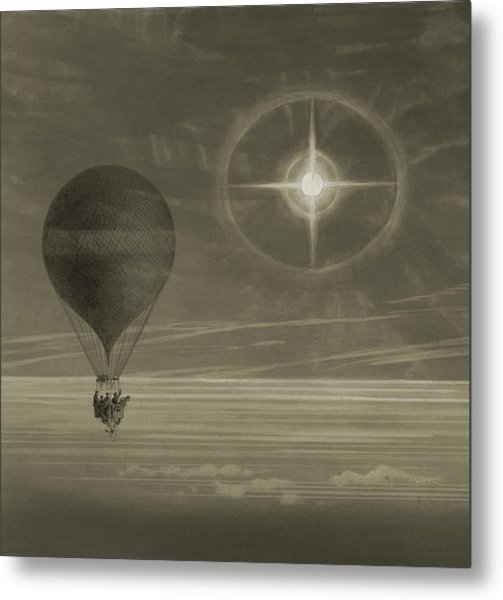 Into The Night Sky Metal Print