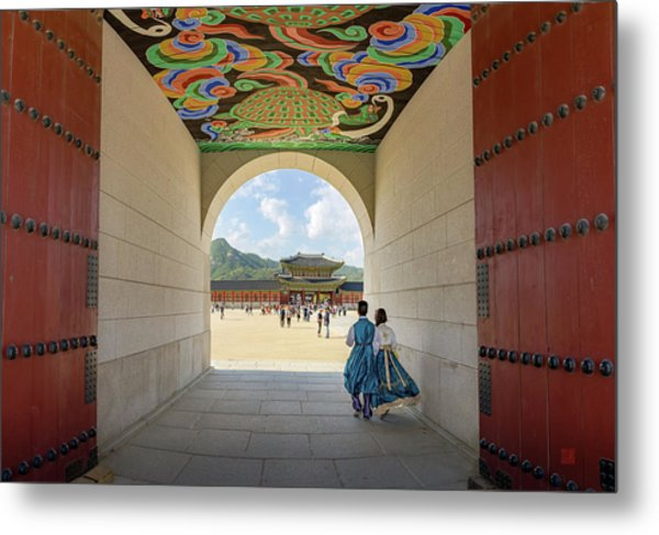 Into The Palace Metal Print
